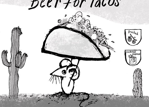 Off Color Beer For Tacos (Gose - 4 Pack x 16 oz.) (MD)