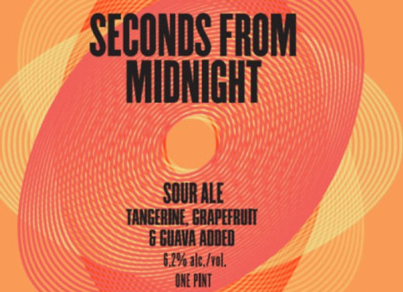Charles Towne Seconds From Midnight: TG&G (Fruited Sour Ale - 4 Pack x 16 oz.)