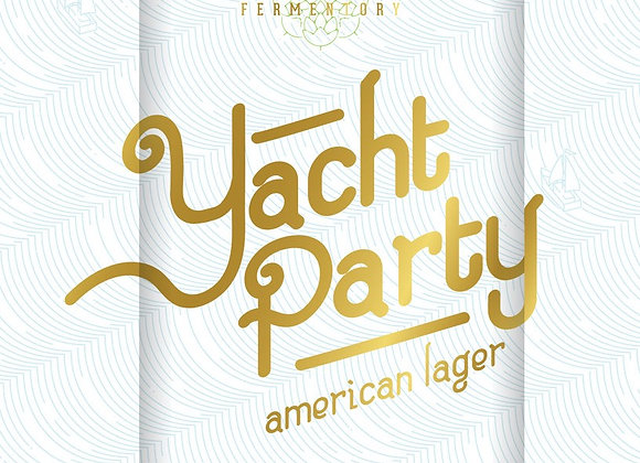 Charles Towne Yacht Party (Pale Lager - 4 Pack x 16 oz.)