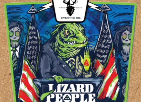 Drekker Lizard People (Hazy Double IPA - 4 Pack x 16 oz.)