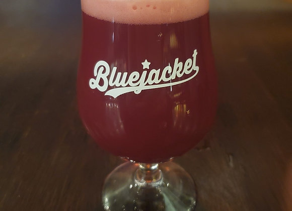 Bluejacket Baseball Logo Belgian Tulip Glass