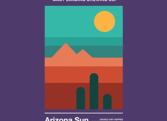 Mast Landing Arizona Sun (Hazy Double IPA - 4 Pack x 16 oz.)