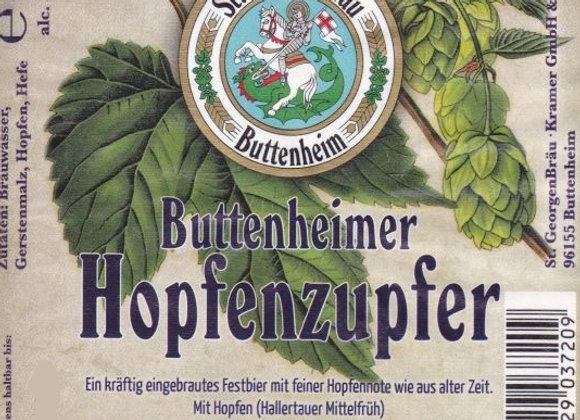 St. GeorgenBräu Buttenheimer Hopfenzupfer (Märzen - 4 Pack x 16 oz.)