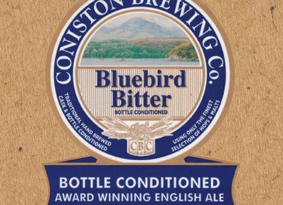 Coniston Bluebird Bitter (Ordinary Bitter - Single x 16.9 oz.)