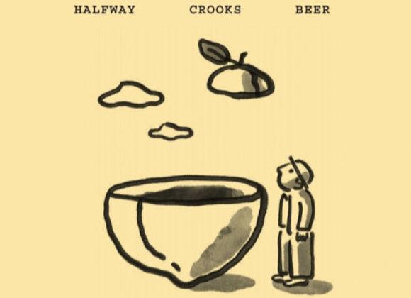 Halfway Crooks Seconds (Mixed Fermentation Ale - Single x 25.4 oz.)