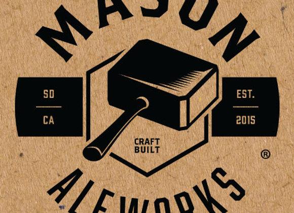 Mason Rinaldi's (Italian Pilsner - 4 Pack x 16 oz.)