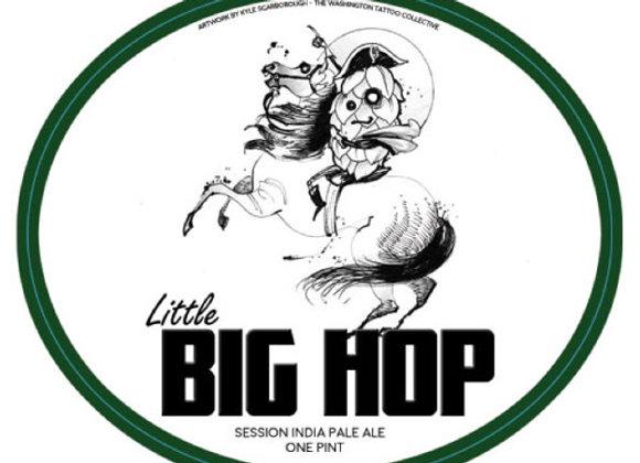 2nd Shift Little Big Hop (Hazy Session IPA - 4 Pack x 16 oz.)