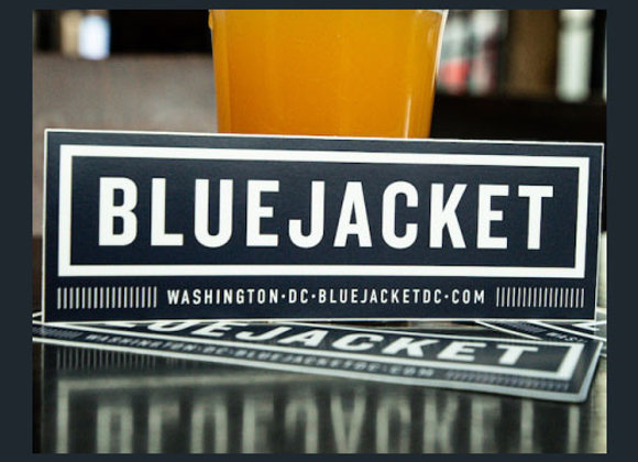 Bluejacket Rectangle Sticker