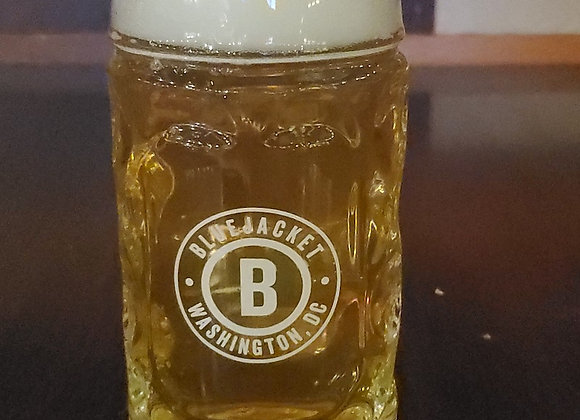 Bluejacket .5 L Glass Stein