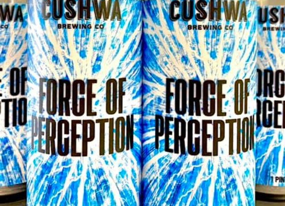 Cushwa Force of Perception (Hazy Double IPA - 4 Pack x 16 oz.) (MD)