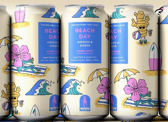 Lost Boy Beach Day (Dry Cider - 4 Pack x 16 oz.)