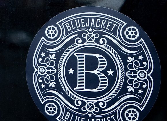 Bluejacket Classic Circle Sticker