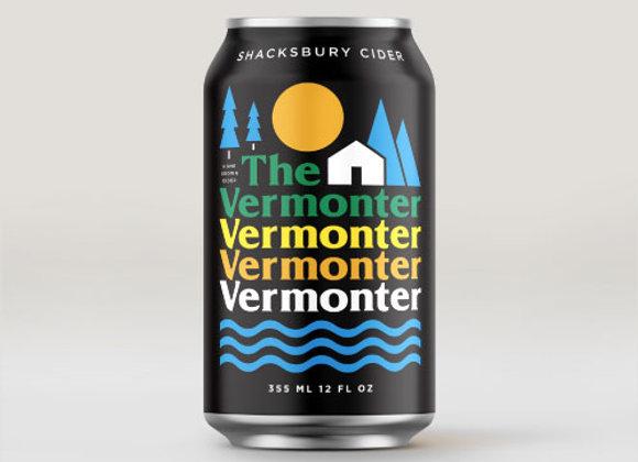 Shacksbury The Vermonter (Dry Cider - 4 Pack x 12 oz.)