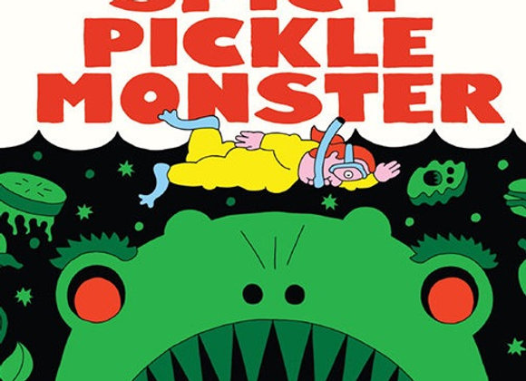 Prairie Spicy Pickle Monster (Fruited Sour Ale - 4 Pack x 16 oz.)