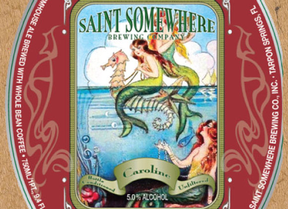 Saint Somewhere Caroline (Mixed Fermentation Ale - Single x 25.4 oz.)