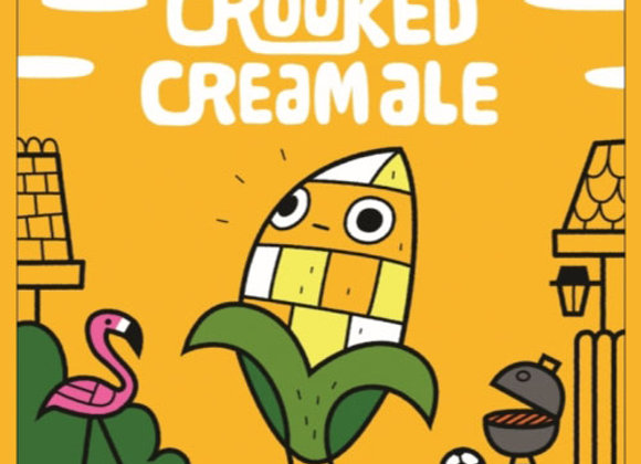 Crooked Crab Crooked Cream Ale (Cream Ale - 4 Pack x 16 oz.) (MD)