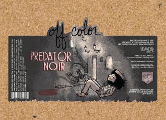 Off Color Predator Noir (Mixed Fermentation Ale - 32 oz. Growler)