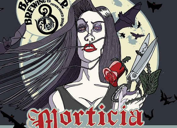 Barrier Morticia (Imperial Stout - 4 Pack x 16 oz.)