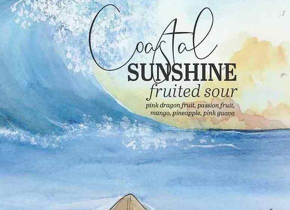 Humble Forager Coastal Sunshine: Pink Dragonfruit... (Sour Ale - 4 Pack x 16 oz)