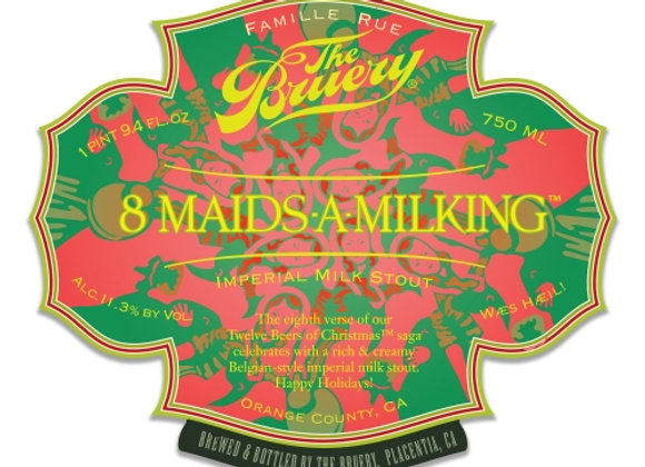 The Bruery 8 Maids-A-Milking 2015 (Imperial Sweet Stout - Single x 25.4 oz.)