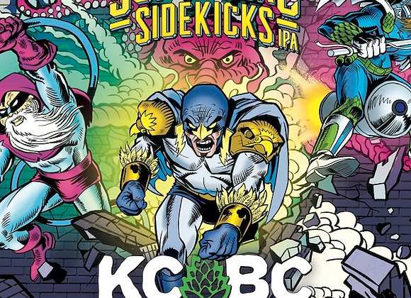 KCBC Superhero Sidekicks (Hazy IPA - Growler)