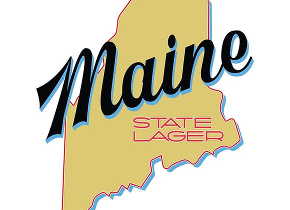 Oxbow Maine State Lager (Pale Lager - 4 Pack x 16 oz.)