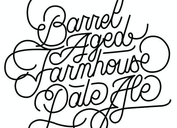 Oxbow Barrel-Aged Farmhouse Pale Ale 2015 (Mixed Fermentation Ale - 16.9 oz.)