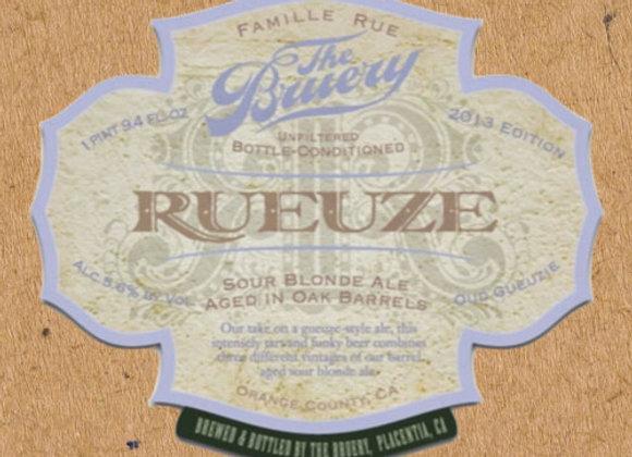 The Bruery Rueuze 2013 (Wild Ale - Single x 25.4 oz.)