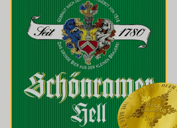 Schönram Hell (Helles Lager - Single x 16.9 oz.)