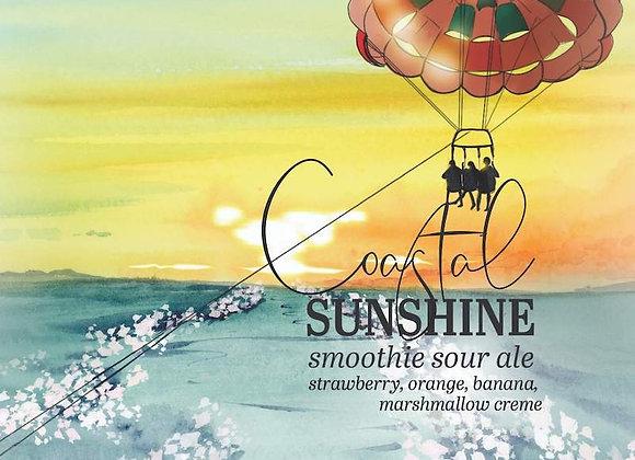 Humble Forager Coastal Sunshine: V13 (Fruited Sour Ale - 4 Pack x 16 oz.)