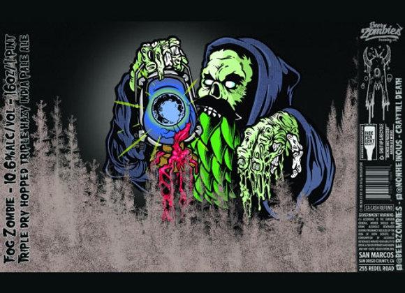 Beer Zombies Fog Zombie (Hazy Triple IPA - 4 Pack x 16 oz.)