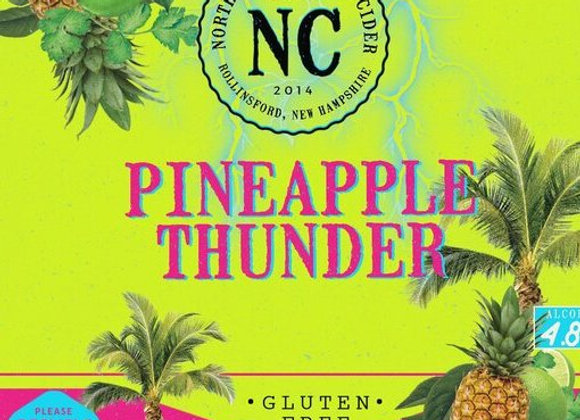 North Country Pineapple Thunder (Cider - 4 Pack x 12 oz.)