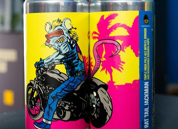 Tripping Animals Rat Tail Jackman (Hazy Triple IPA - 4 Pack x 16 oz.)