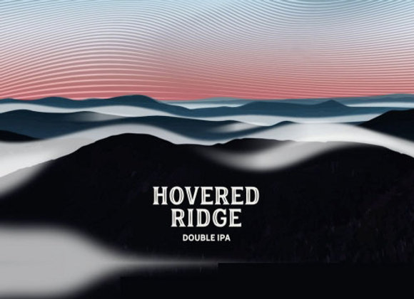 Ten Bends Hovered Ridge (Hazy Double IPA - 4 Pack x 16 oz.)