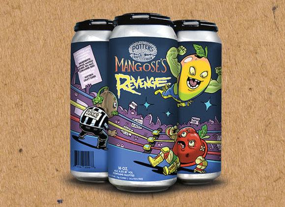 Potter's Mangose's Revenge (Cider - 4 Pack x 16 oz.)