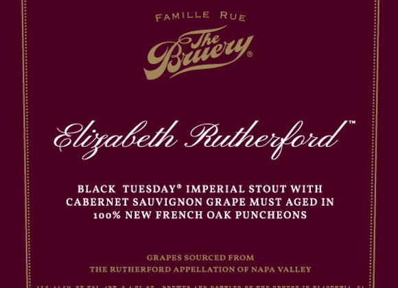The Bruery Elizabeth Rutherford 2019 (Imperial Stout - Single x 25.4 oz.)