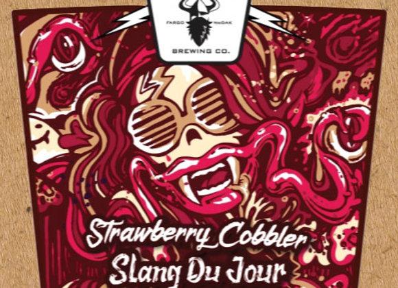 Drekker Slang Du Jour: Strawberry Cobbler (Fruited Sour Ale - 4 Pack x 16 oz.)