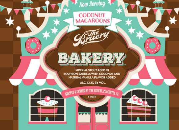 The Bruery Bakery: Coconut Macaroons (Imperial Stout - Single x 16 oz.)