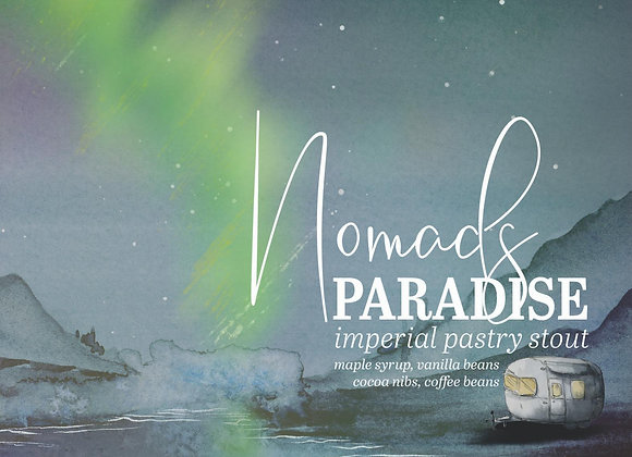 Humble Forager Nomads Paradise (Imperial Stout - Single  x 16 oz.)