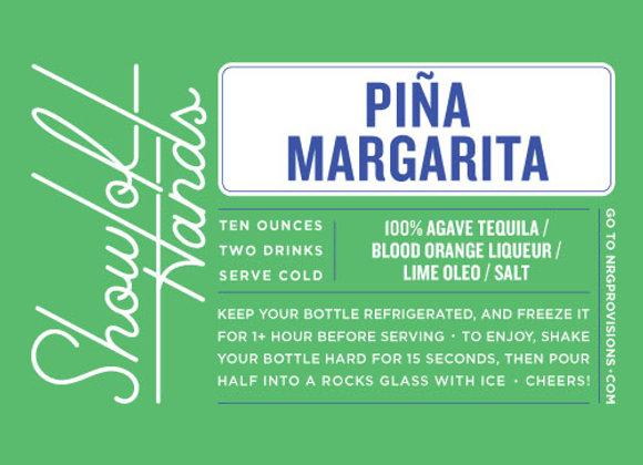 Piña Margarita - 10 Oz. Bottle (Serves 2)
