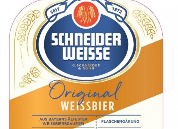 Schneider & Sohn Original (Hefeweizen - Single x 16.9 oz.)