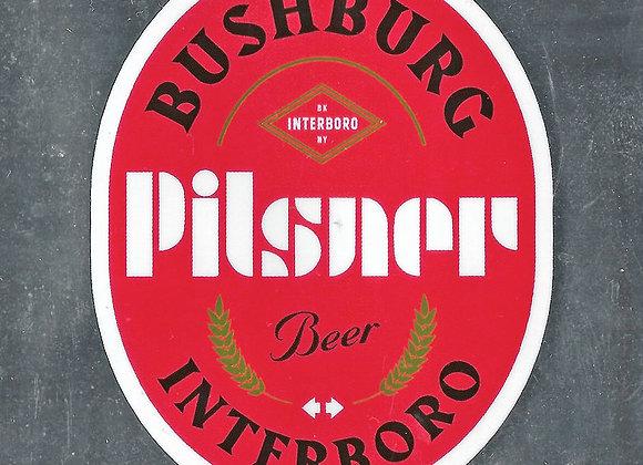 Interboro Bushburg (German Pilsner - 4 Pack x 16 oz.)
