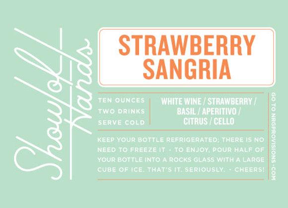 Strawberry Sangria - 10 Oz. Bottle (Serves 2)
