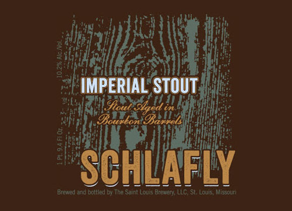 Schlafly Bourbon Barrel-Aged Imperial Stout 2008 (Imperial Stout - 25.4 oz.)