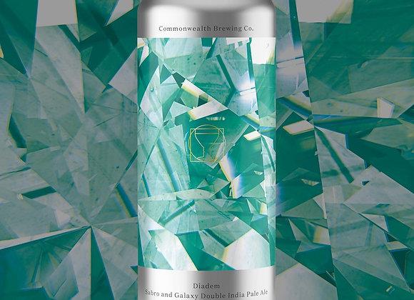 Commonwealth Diadem (Hazy Double IPA - 4 Pack x 16 oz.)