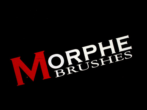 Morphe Brushes Organized - From the Video