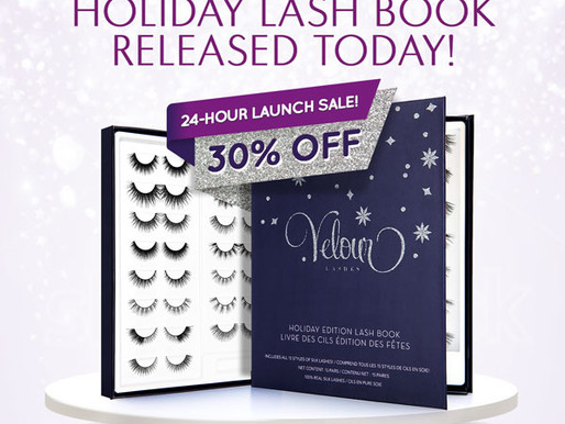 Velour Silk Holiday Lash Book! 30% Off Launch Date Today!!