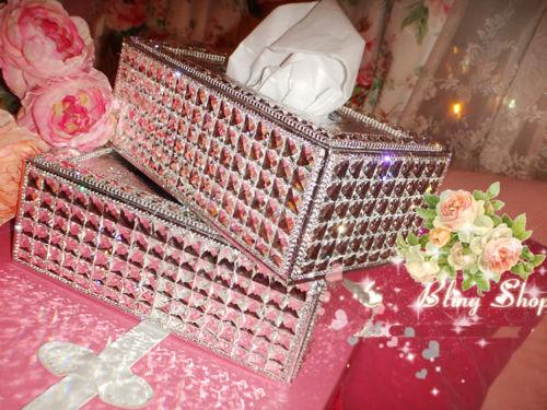 Swarovski Tissue Box Holder