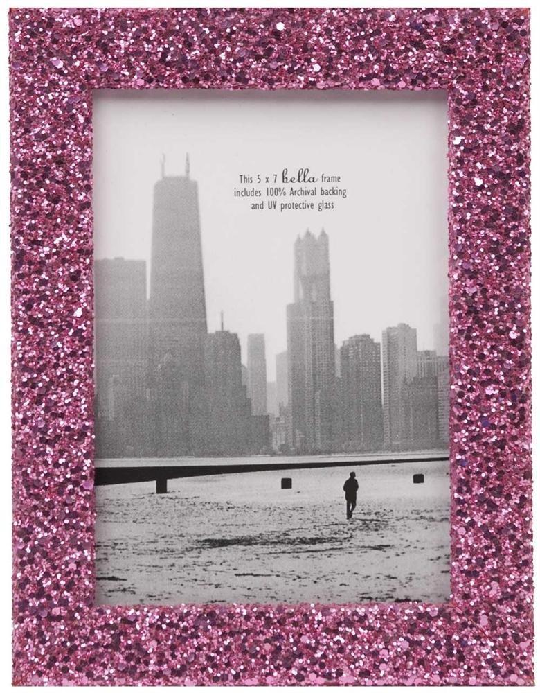 Pink Glitter Photo Frame