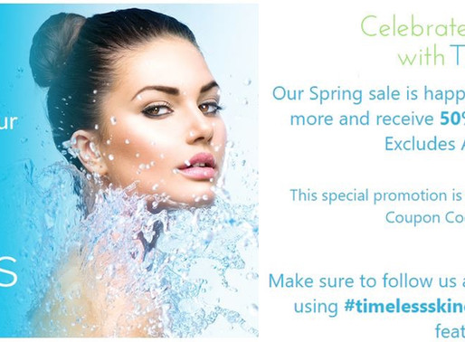Timeless Skin Care Sale!
